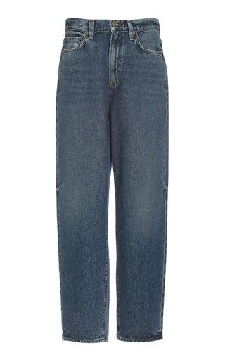 The Peg Rigid High-Rise Slim-Leg Jeans
