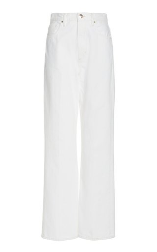 The Curved Rigid High-Rise Jeans
