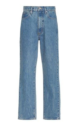 Beatnik Ankle Rigid High-Rise Slim-Leg Jeans