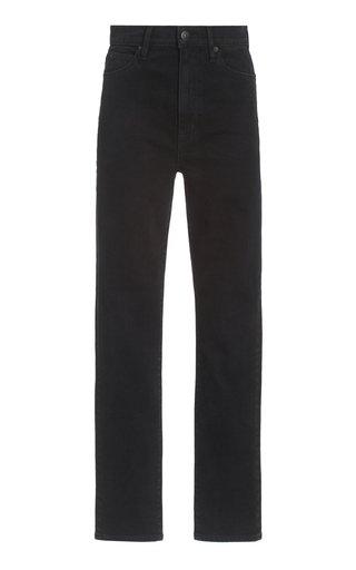Beatnik Stretch High-Rise Straight-Leg Jeans