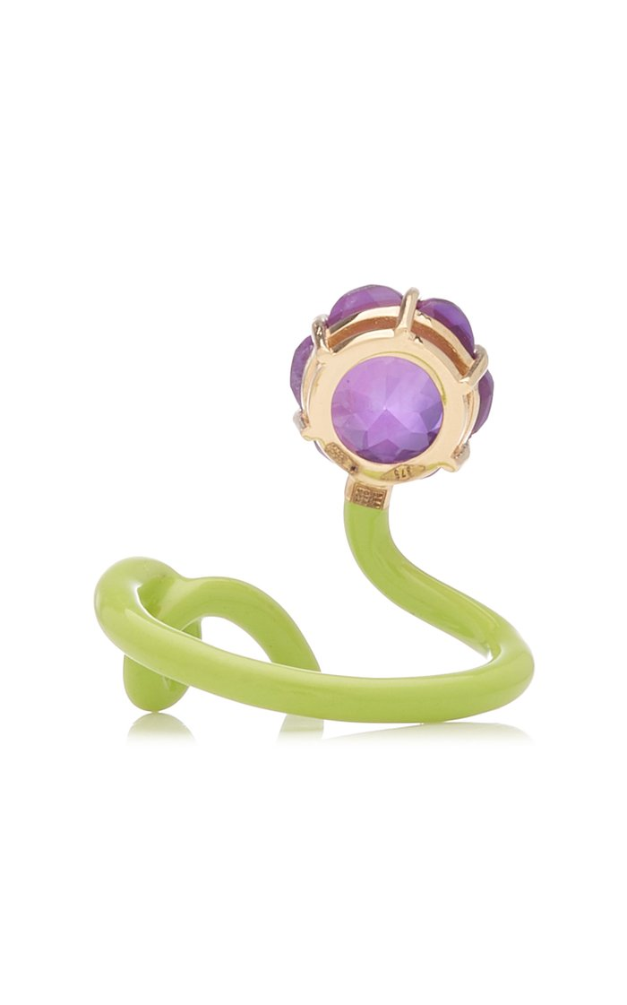 Flower Tendril Ring