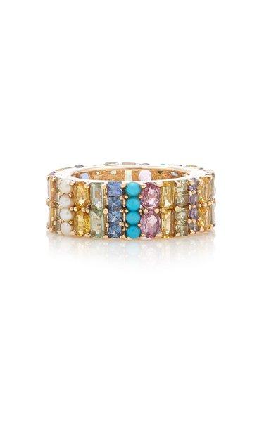 Khalo 14K Yellow Gold Multi-Stone Ring