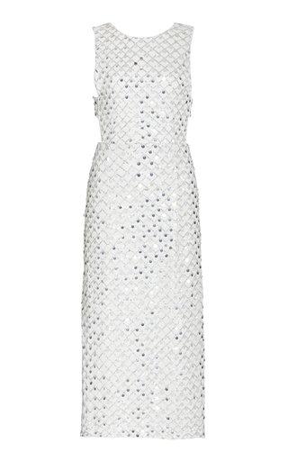 Toriana Sequined Midi Dress