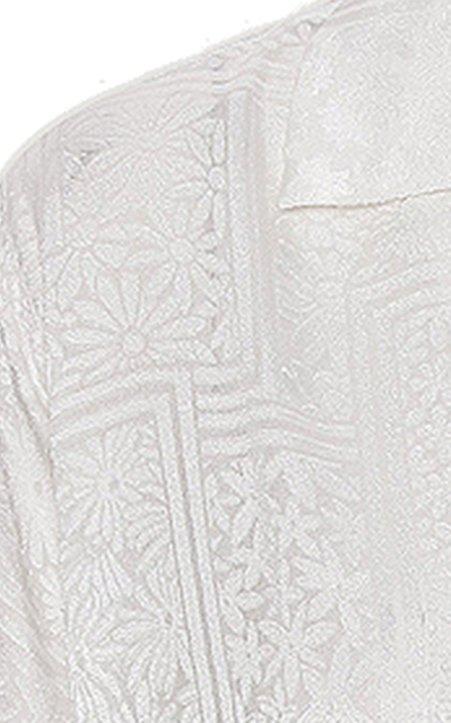 Avery Jacquard Button-Down Shirt