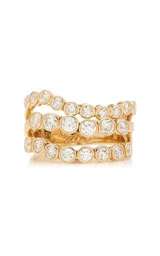 Avalon 14K Gold and Diamond Ring
