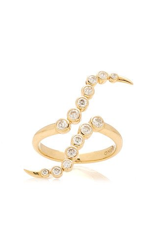 Siren 14K Gold Diamond Ring