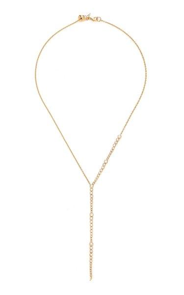 Simone 14K Gold Diamond Necklace