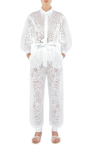 San Gallo Broderie Jumpsuit