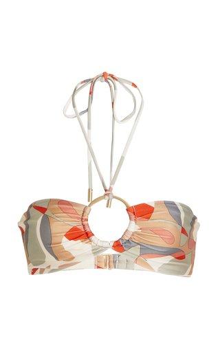 Myra Printed Bikini Top