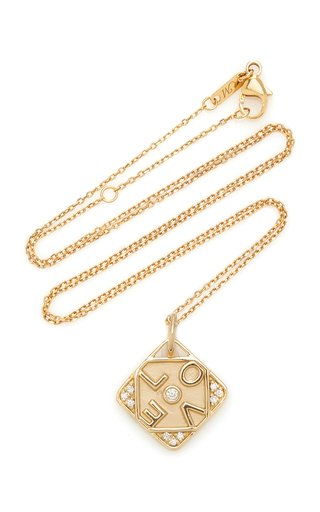 Love 18K Gold Charm Necklace