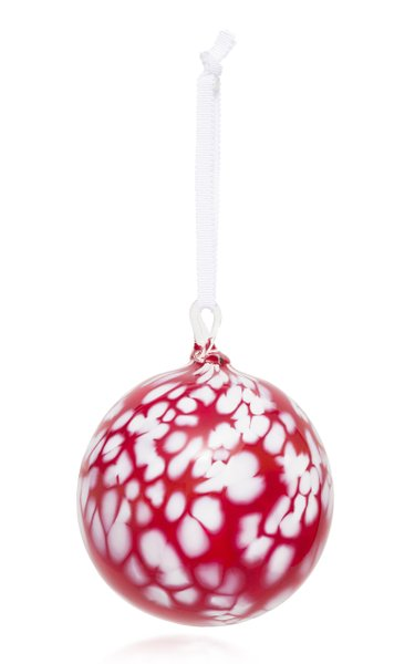 Spotted Glass Ornament