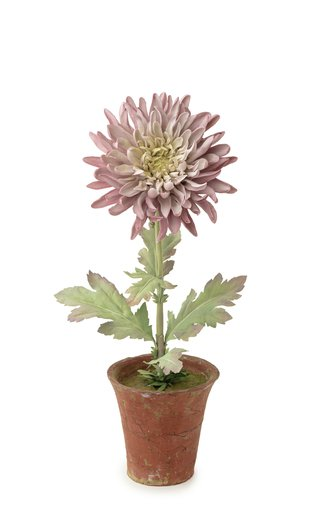 Large Chrysanthemum Porcelain Sculpture