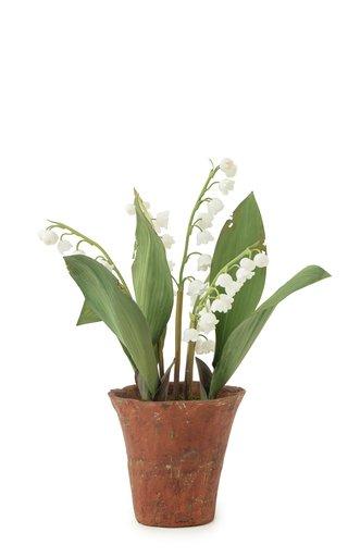 Small Floral Porcelain Sculpture