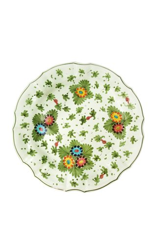 Fiorito by MODA DOMUS, Set-Of-Four HandHandpainted Ceramic Dinner Plates