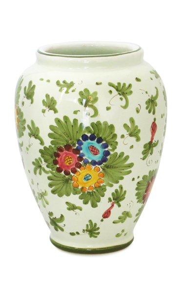 Fiorito by MODA DOMUS, Set-Of-Two Handpainted Ceramic Vases