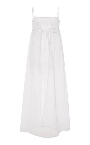 Kamille Silk Overlay Maxi Dress