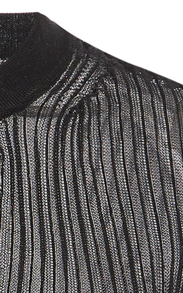 Felicity Ribbed-Knit Cardigan