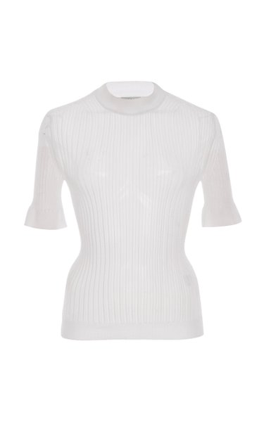 Fabienne Ribbed-Knit Top