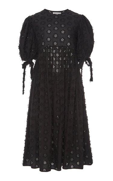 Hailey Cotton-Broderie Dress