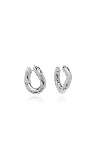 Loop Silver-Tone Earrings