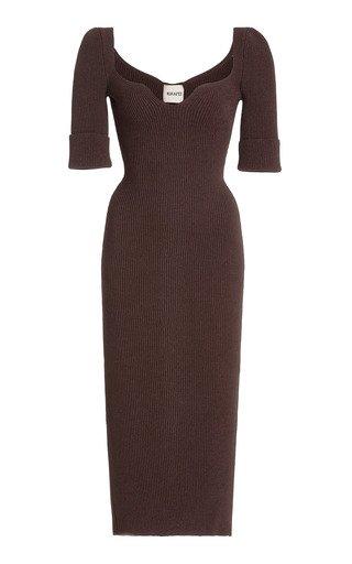 Leana Knit Midi Dress