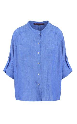 Linen Batwing Shirt