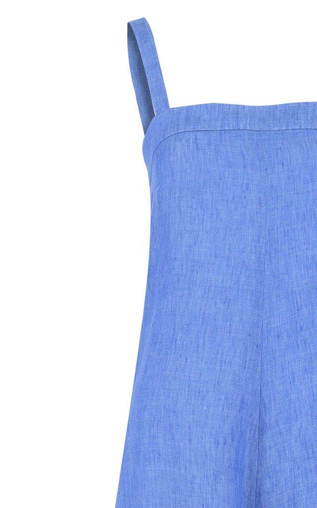 Linen Wide-Leg Jumpsuit
