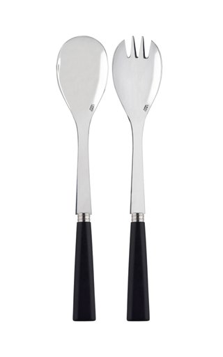 Nature Wood Two-Piece Salad Set