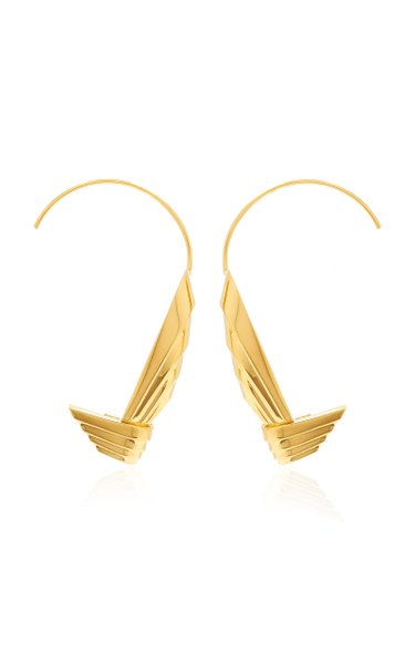 Susan Gold-Plated Earring Cuffs