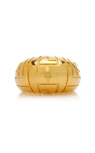 Geena Gold-Plated Ring