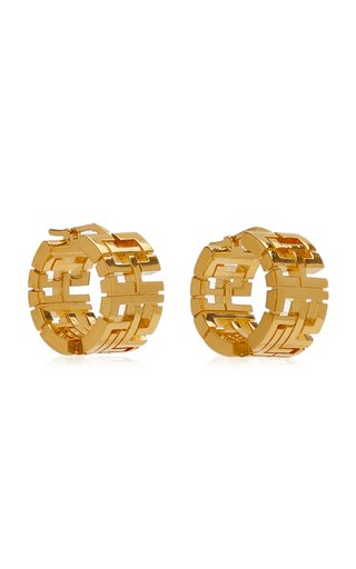 Goldie Mini Gold-Plated Earrings