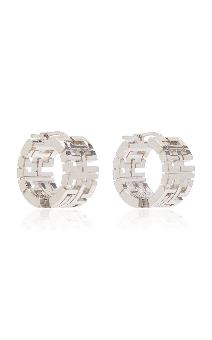 Goldie Mini Palladium-Plated Earrings