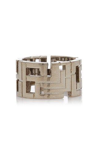 Goldie Palladium-Plated Ring