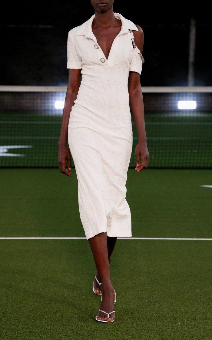 Dk Intarsia Midi Dress