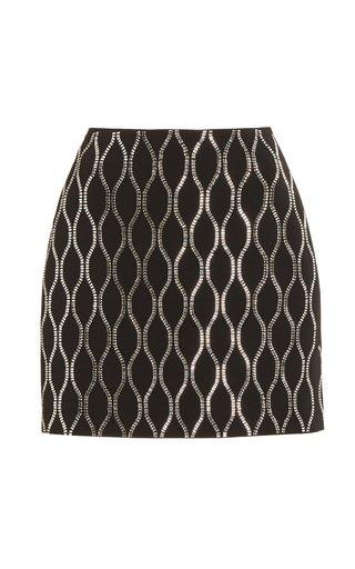 Crystal Embellished Tennis Skirt