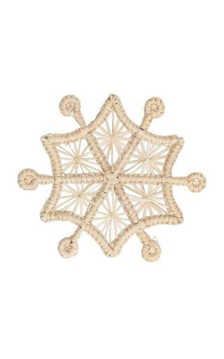 Set Of 4 Snowflake Napkin Rings