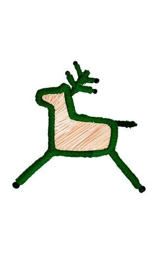 Set Of 4 Deer Napkin Rings