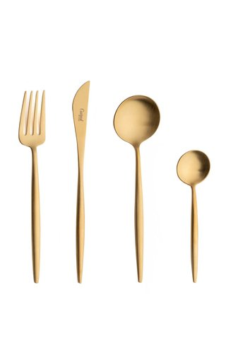 Moon Stainless Steel Five-Piece Silverware Set