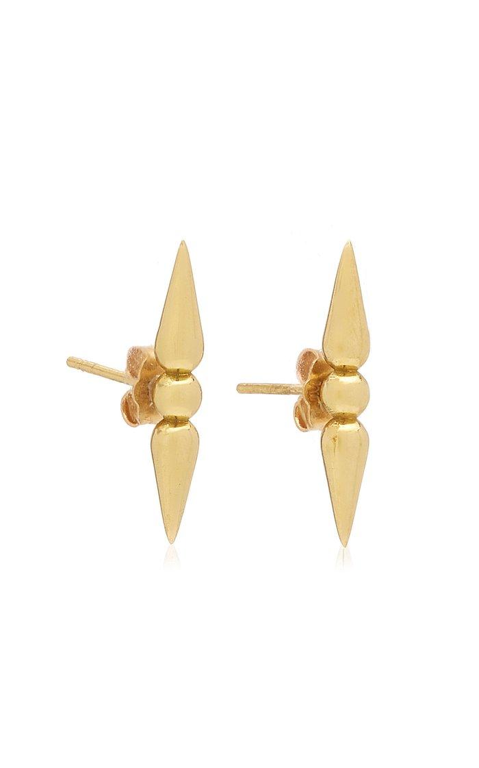 Shirley 18K Yellow Gold Earrings