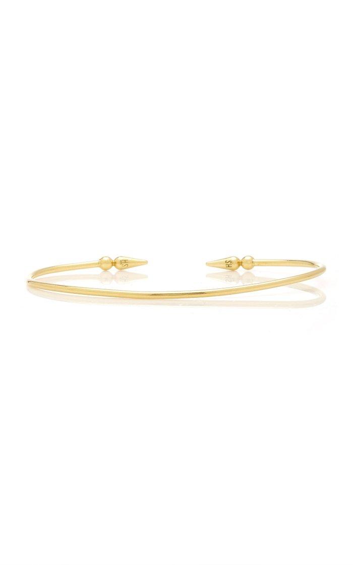 Shirley 18K Yellow Gold Diamond Bracelet