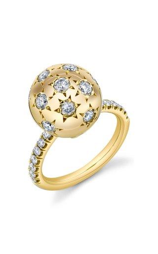 PAVE ETHEL RING- WHITE DIAMOND