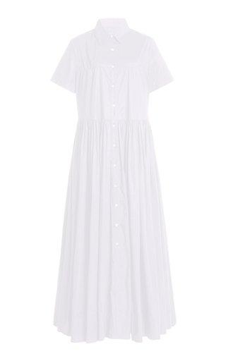 Guilia Cotton-Poplin Shirt Dress