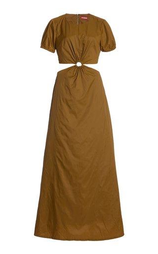 Calypso Cutout Shell Maxi Dress