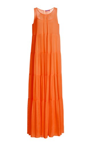 Benedetta Silk Mesh Dress