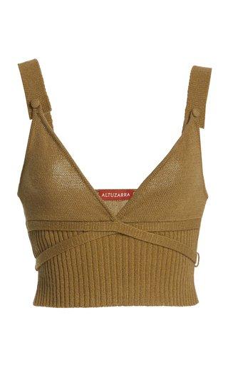 Briallen Cashmere-Cotton Knit Top