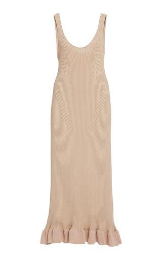 Marjoram Ribbed-Knit Tank Dress