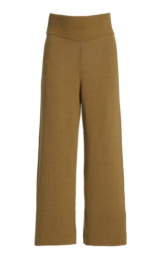 Cynthia Cashmere-Cotton Pants