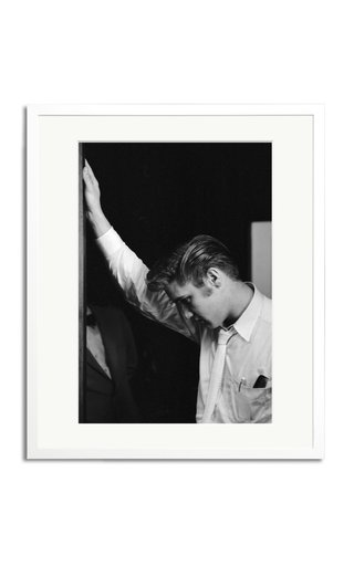 Elvis Backstage Framed Print Photography