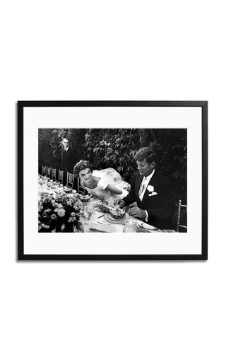 The Kennedy Wedding Framed Print