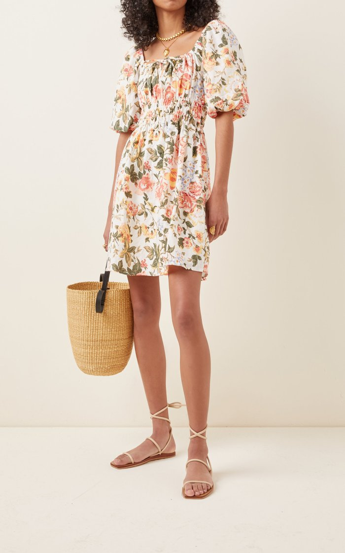 Nikoleta Linen Mini Dress